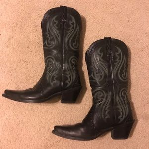 GUC Ariat black boots- size 8.5M